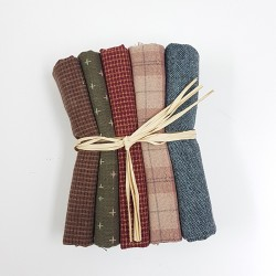 Japanese yarn dyed fat eighth bundle-different colors