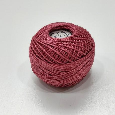 Hilo perle 12 rosa
