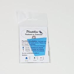 Plantilla Dedal Azul