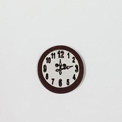 Botón Madera Reloj